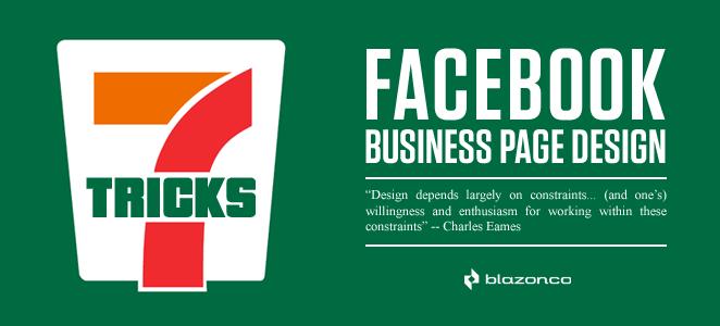 Facebook Business Page Design: 7 Tricks - Blazonco